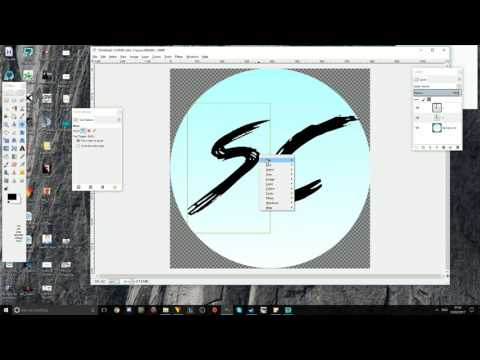 How to make a YouTube logo (FOR FREE) Using GIMP
