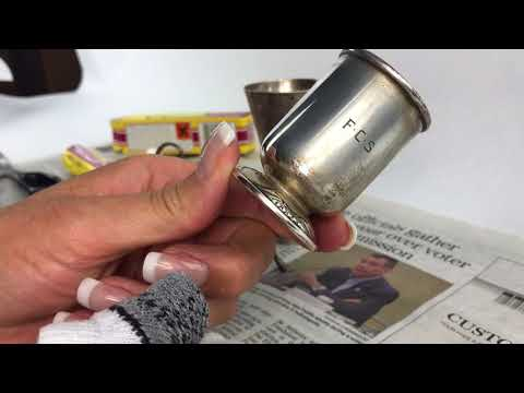 How to Polish Antique Silver