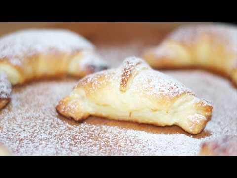 Easy Custard Filled Croissant Recipe - How to Cook Real Italian Food from my Italian Kitchen