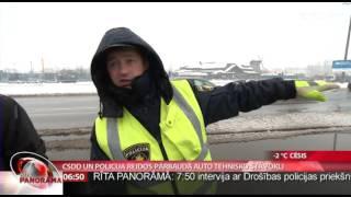Csdd Un Policija Reidos Pārbauda Auto Tehnisko Stāvokli