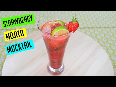 How to make Strawberry Mojito Mocktail | Ramadan Recipes | Cook with Anisa