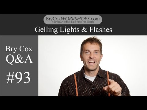 #93 –Gelling Lights & Flashes – Bry Cox Q&A for Photographers