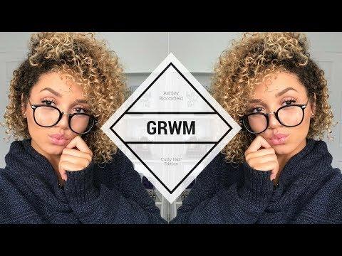 GRWM: Curly Hair Edition | Ashley Bloomfield