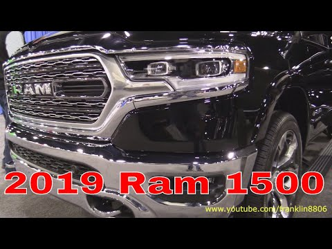 2019 Ram 1500 Limited and Rebel with infotainment demo