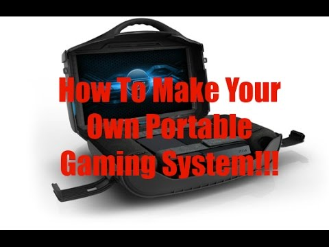 How to make your own Portable Gaming System for Xbox One/PS4/Xbox 360/PS3