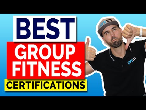 Best 4 Group Fitness Certification Options to Choose from!