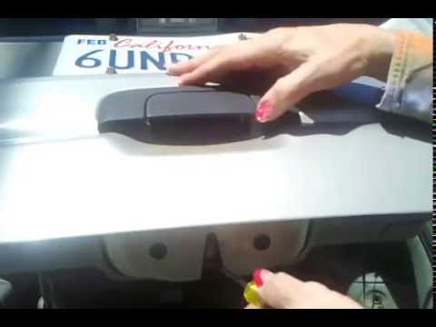 Video How to reset car trunk lock