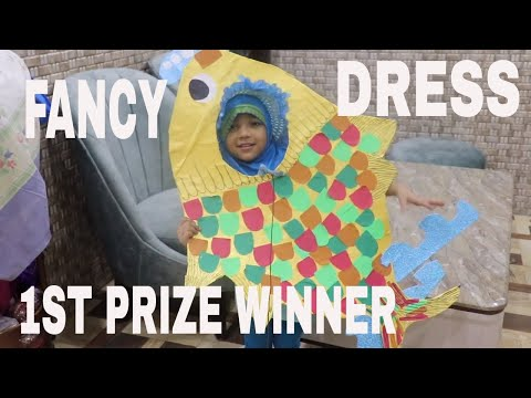 FANCY DRESS IDEA FOR YOUR KID - FANCY DRESS FISH IDEA - PRIZE WINNING FANCY DRESS  COSTUME
