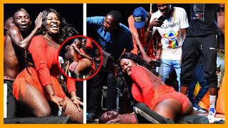 OMG!! See what Patapaa and Sista Afia did on stage at her album concert