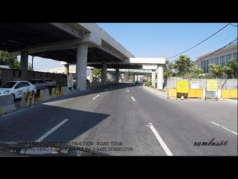 NAIA EXPRESSWAY PROJECT TOUR PART 3 NAIA Terminal 3 Airport Road/Andrews Ave. view in 1080p Full HD