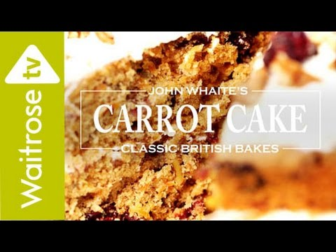 John Whaite's Carrot Cake with Cranberry and Lime | Waitrose