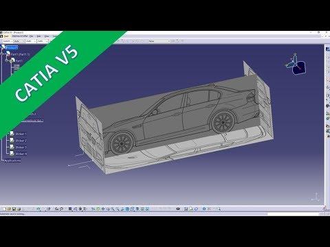 Import & Scale Images - Apply Sticker - Catia v5 Training -Part Design