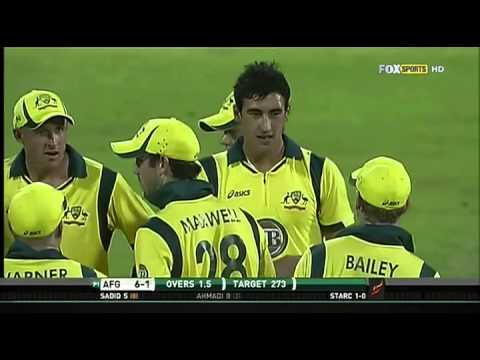 Download Only ODI: Afghanistan VS Australia HD full highlights