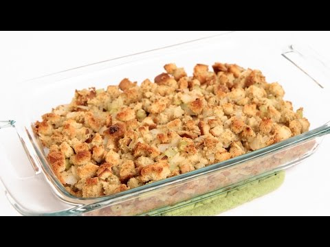 Classic Stuffing Recipe - Laura Vitale - Laura in the Kitchen Episode 843