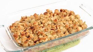 Classic Stuffing Recipe Laura Vitale Laura In The Kitchen Episode 843