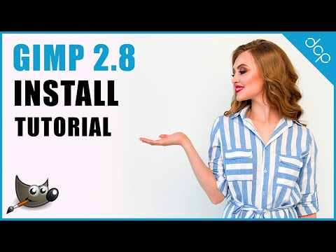 How to install GIMP 2.8 on Windows 10