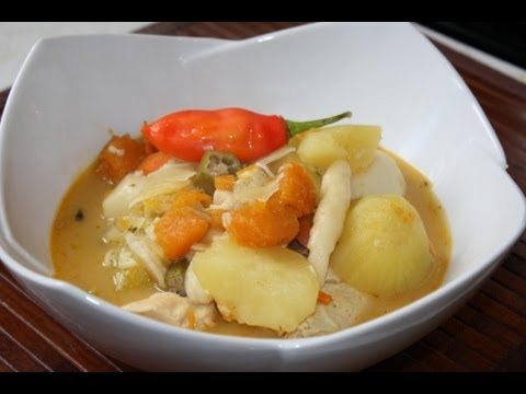 Caribbean Chicken Soup.