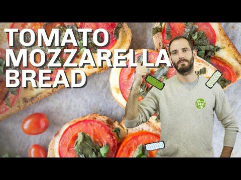 Tomato Mozzarella Bread - Quick & Tasty   Hurry The Food Up