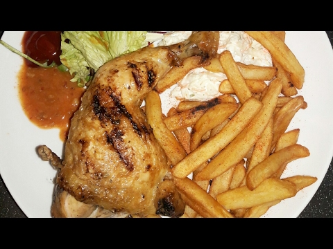 How to reheat burger, chicken and chips on stove (no oven) (no microwave)