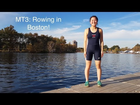 MT3: Rowing for Christ Church in Boston, USA!