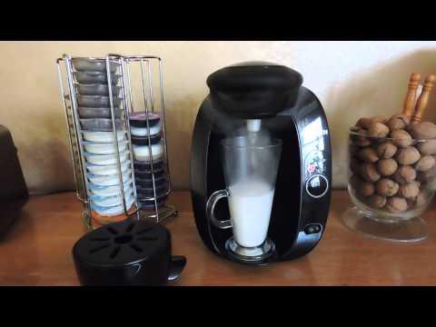 BOSCH TASSIMO - how to make CHAI LATTE TEA