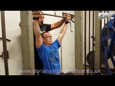 Dorian Yates - How To Train The Latissimus Dorsi Muscle Correctly