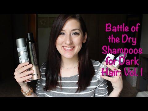 Battle of the Dry Shampoos for Dark Hair: Vol. 1