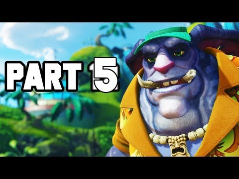Ratchet and Clank Walkthrough Gameplay Part 5 -  PARADISE ISLAND (2018 PS4)