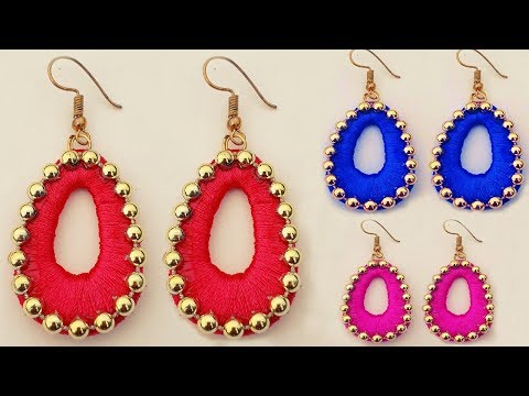 Easy Make Paper Earrings at home//Simple and Beautiful Paper Jewellery Making