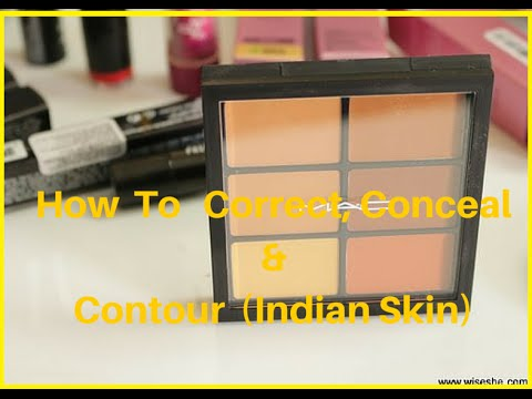 How To Color Correct , Conceal, Contour & Highlight With MAC PRO CONCEAL PALETTE