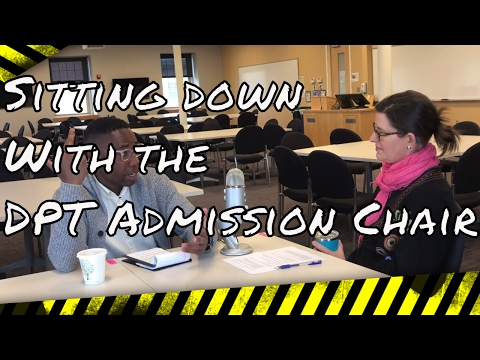 Interview with DPT admission chair