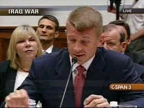 Blackwater Hearing: Maloney's Questions