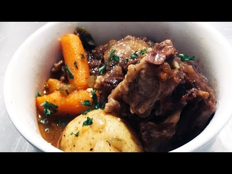 Pressure Cooker Stewed Oxtails