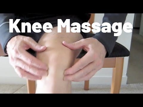 Knee Massage: Do It while You View It