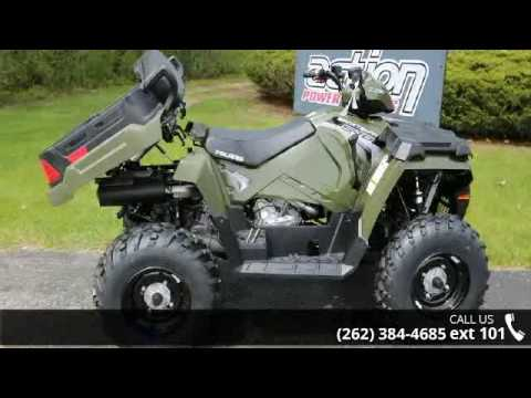 2017 Polaris Sportsman X2 570 Eps Sage Green Action Po