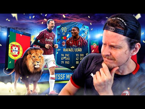 THE MILAN MAD LAD?! 90 TOTS PLAYER MOMENTS LEAO PLAYER REVIEW! FIFA 20 Ultimate Team