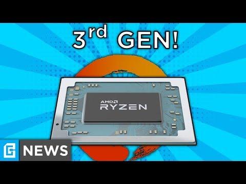 FIRST 3rd Gen Ryzen Spotted, RX 590 RELEASED!