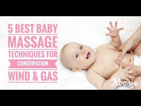 Baby Massage For Constipation Wind and Gas - 5 Best Techniques
