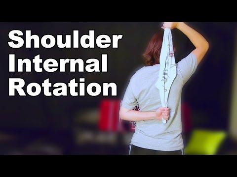 Shoulder Internal Rotation Stretches - Ask Doctor Jo