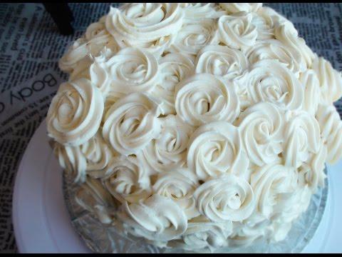 How To Make Rose Cake I Wedding Cake Decorating Ideas 玫瑰花蛋糕的做法
