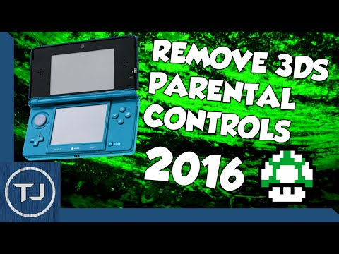 How To Remove/Bypass Nintendo 3DS Parental Controls