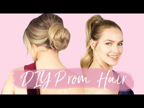 3 DIY Prom Hairstyles for Long Hair - KayleyMelissa