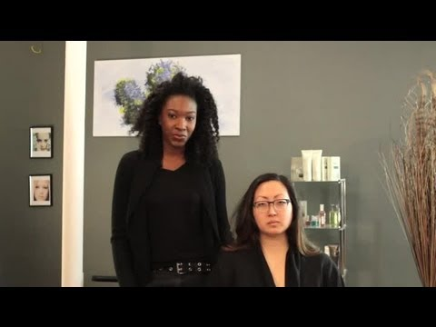 How to Prevent Static When Straightening Hair : Curly Hair & Styling Tips