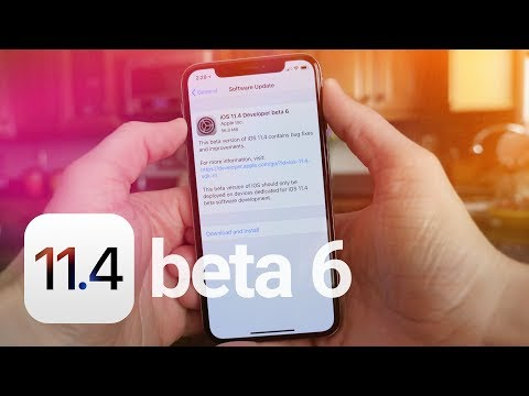 iOS 11.4 Beta 6: What's New?
