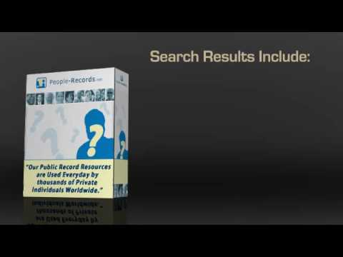 How To Do Your Own People Search Investigations