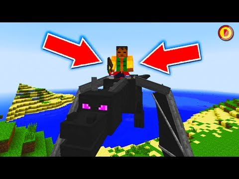 MINECAFT (Xbox360/PS3) HOW TO RIDE THE ENDERDRAGON (PS4/XboxOne/WiiU)