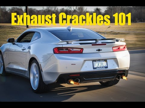 How to Make Your EXHAUST CRACKLE and POP
