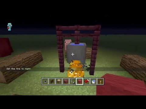 How to Make a CampSite in Minecraft X-Box 360