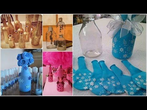12 Things You Can Make from Glass Bottles █▬█ █ ▀█▀