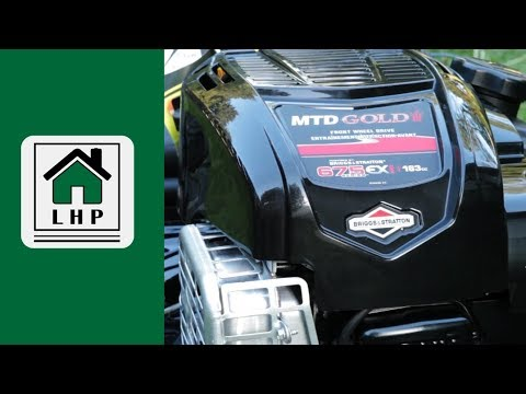 Lawn Mower Assembly and Review - MTD Gold 675EXi 163cc Briggs & Stratton - LHP